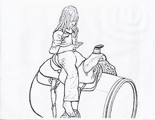 stampede of horses coloring pages - photo#11