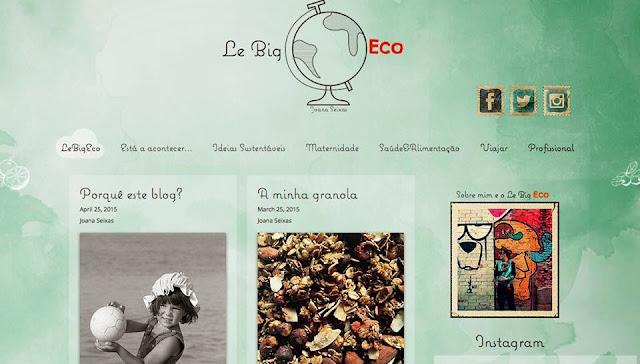 joana seixas, le big eco, blog