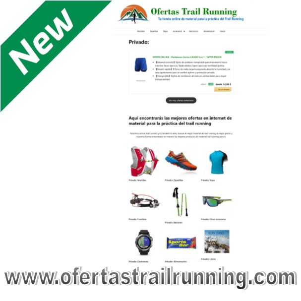 Ofertas Trail Running