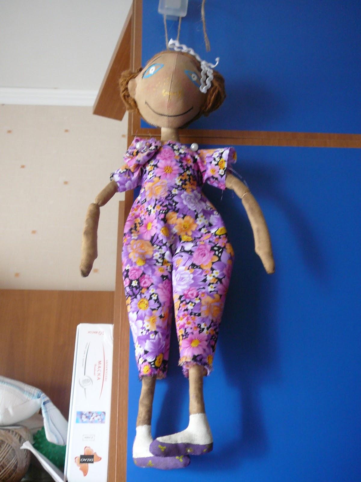 Как сшить куклу тыквоголовку