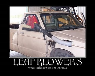 turbo power by leaf blower