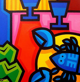Bodegones Abstractos Pintura Texturizada