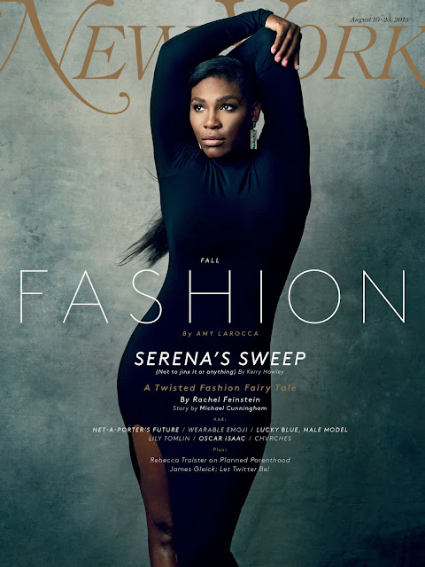 Tennis @ Serena Williams - New York Magazine August 2015