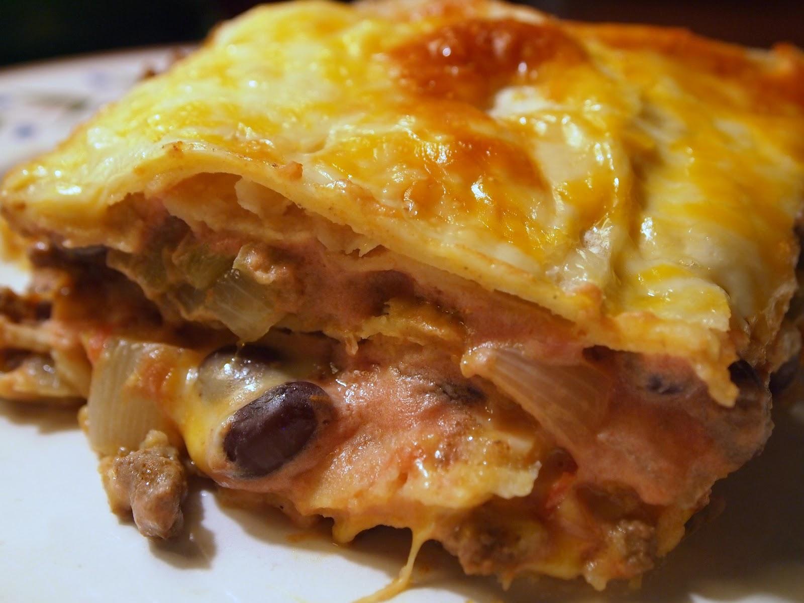 Tex-Mex Lasagna Recipe — Dishmaps