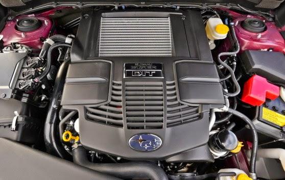 2015 Subaru Forester engine
