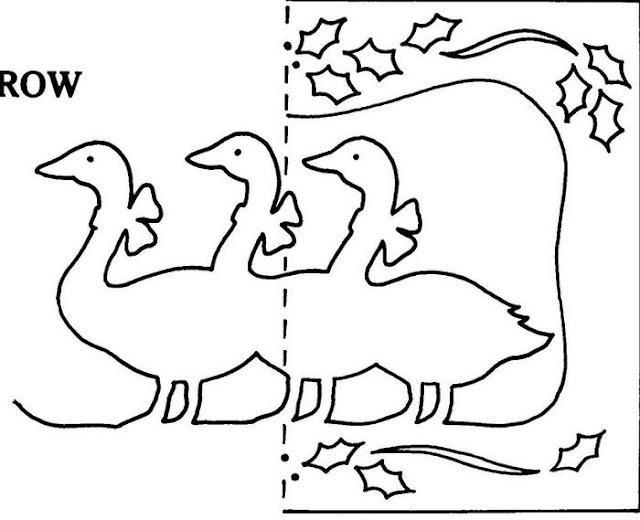 Шаблоны для раскрасок птицы