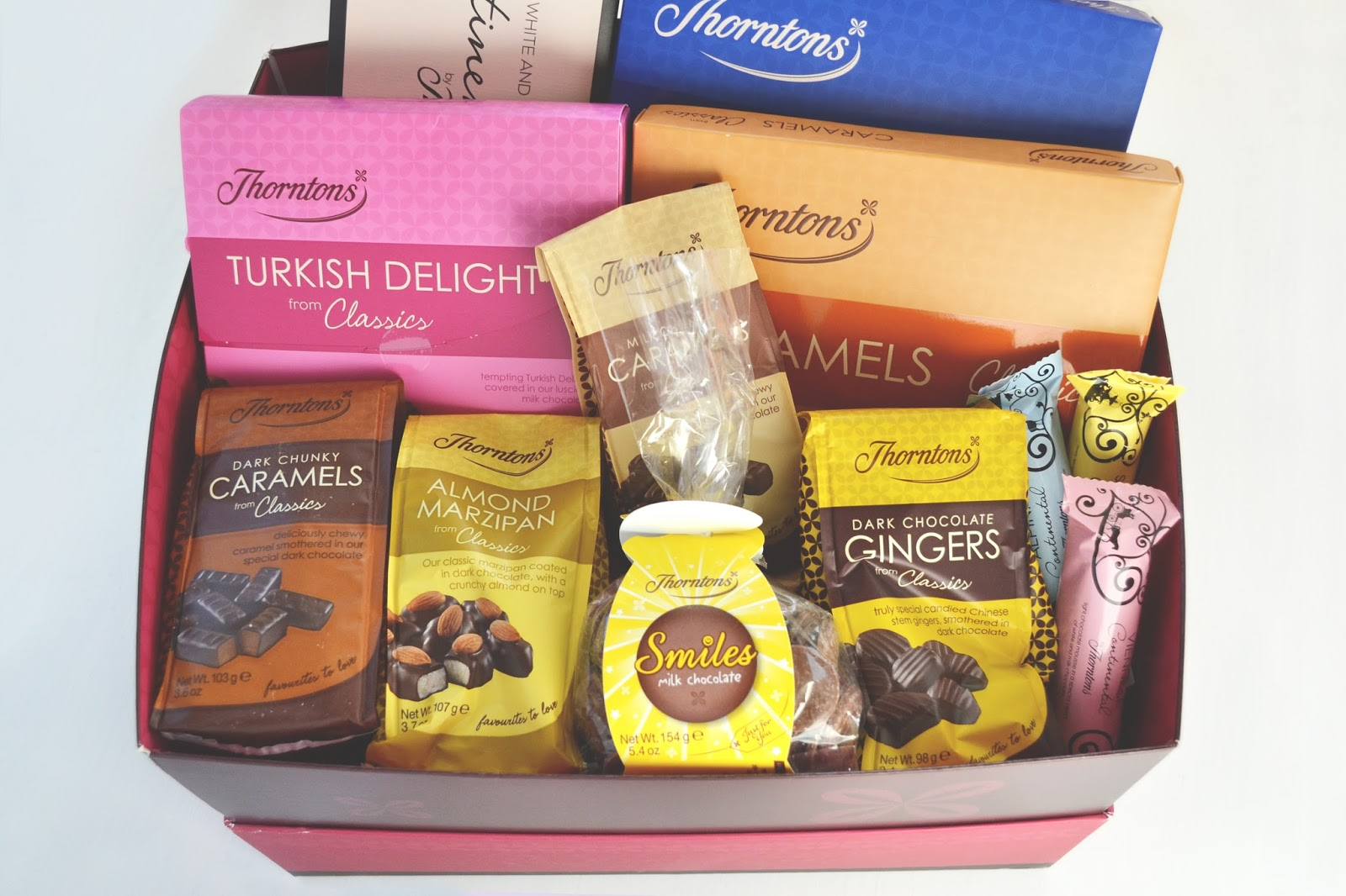 thorntons chocolates hamper