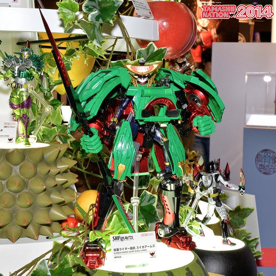 SH Figuarts Kamen Rider Gaim Suika Arms