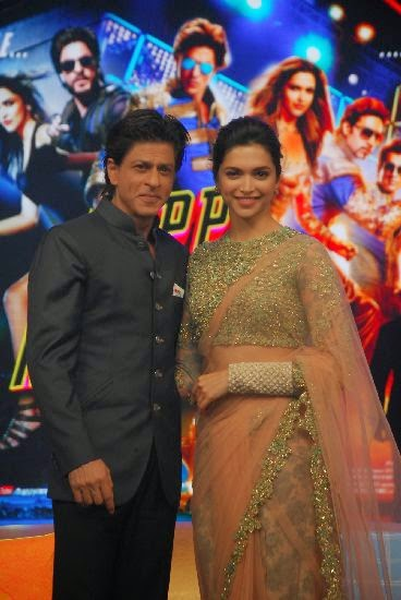 deepika shahrukh happy new year