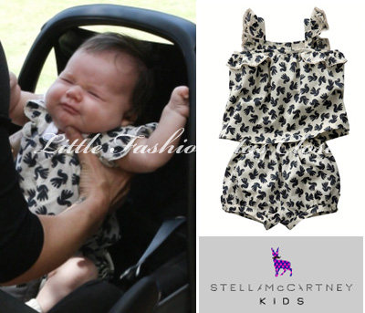 Harper beckham was wearing emma baby dove top amp bloomers ss 11 by
