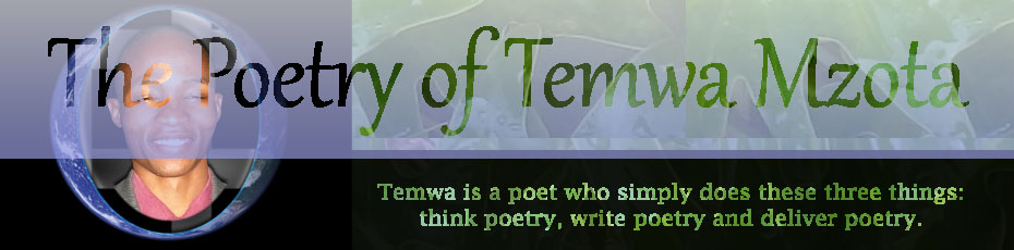 The Poetry of Temwa Mzota