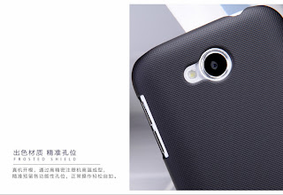 Nillkin Super Frosted Shield Hard Protective Case Cover for Lenovo A706 - Black