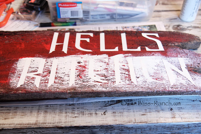 Make Old Barnwood Sign