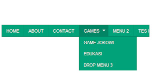 Cara Buat Menu Dropdown di Blog
