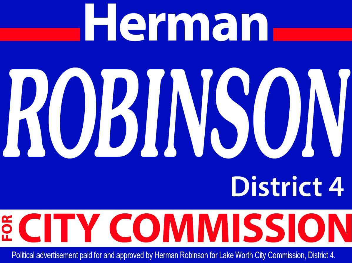 "Election Day is March 14th. Click ""Herman"":"