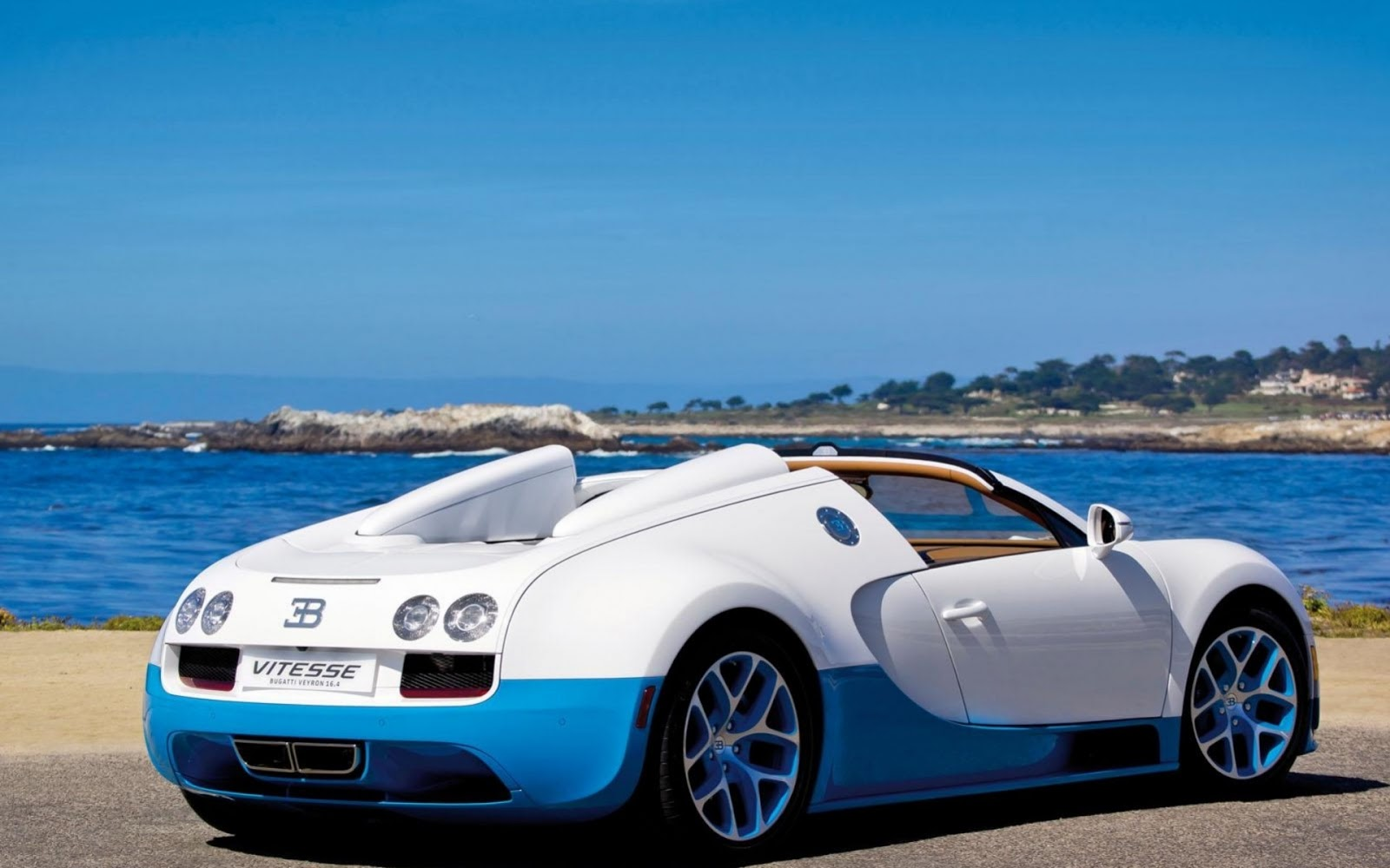 bugatti veyron grand sport vitesse blanco y azul wallpaper autos hd. Black Bedroom Furniture Sets. Home Design Ideas