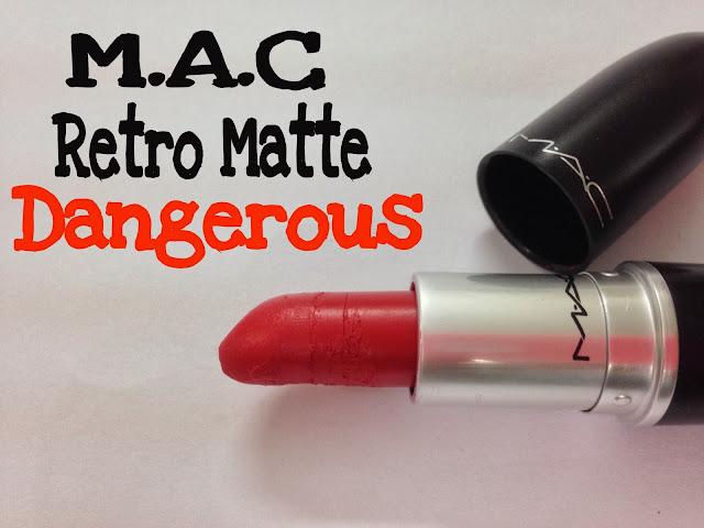 M.A.C Retro Matte 'Dangerous'