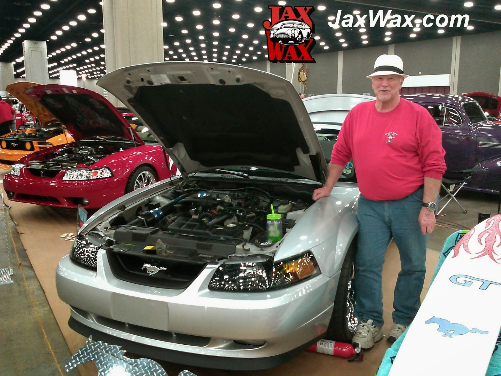 2004 Ford Mustang GT Convertible Carl Casper Auto Show Jax Wax Customer