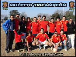 MULETTO - Tricampeon 2010