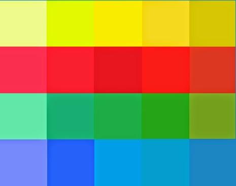 Analiza kolorystyczna - paleta