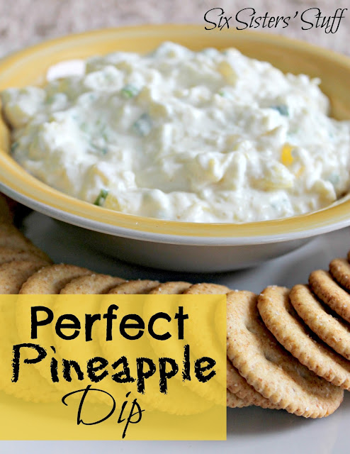 Perfect Pineapple Dip | Six Sisters' Stuff