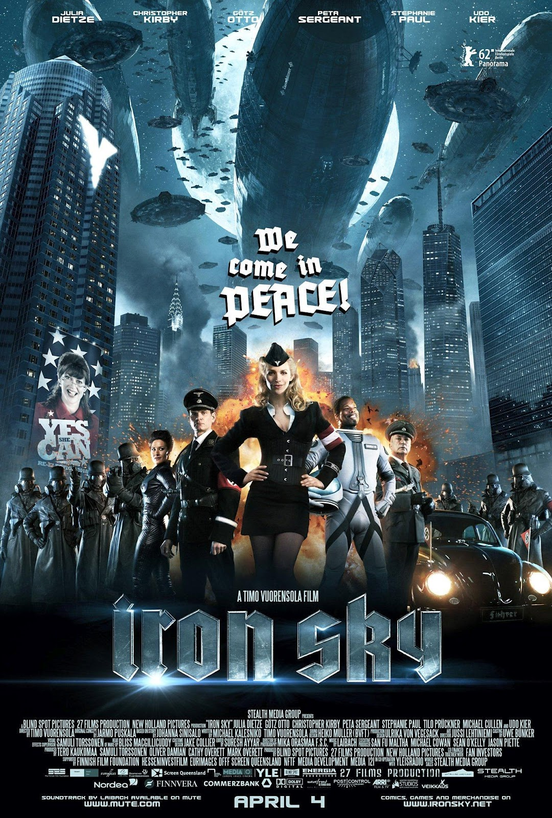 Watch Iron Sky Movie Online Free 2012