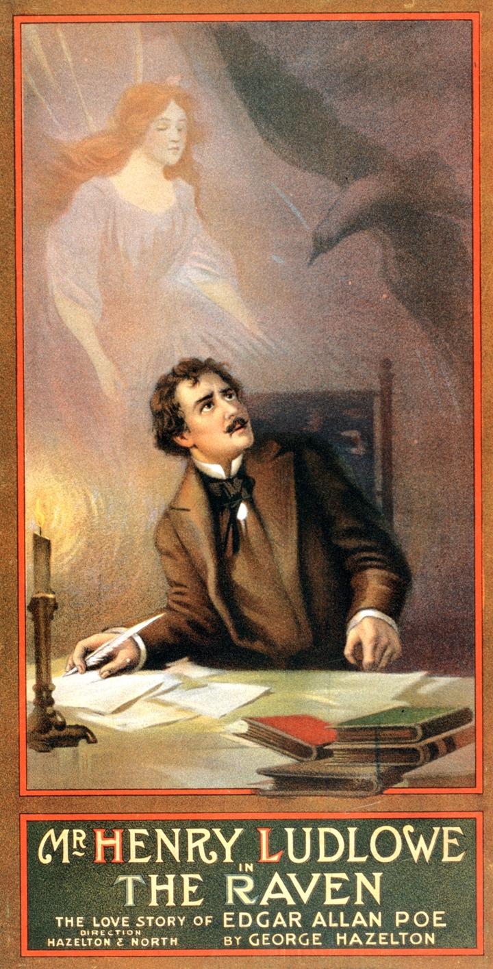 George Hazelton | The Raven by Edgar Allan Poe, 1908