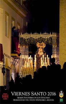 Cartel Viernes Santo en Arahal 2016