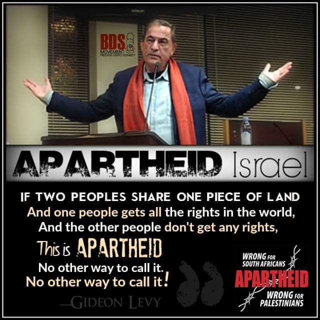 Click for video. Apartheid