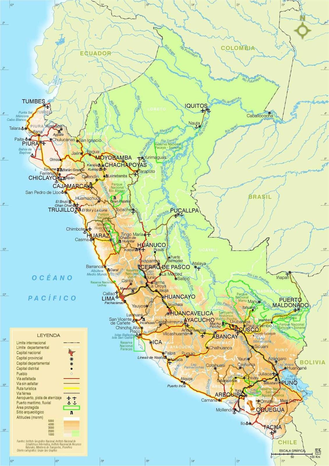 My Slice Of Peru From Tumbes To Tacnamy Slice Of Peru