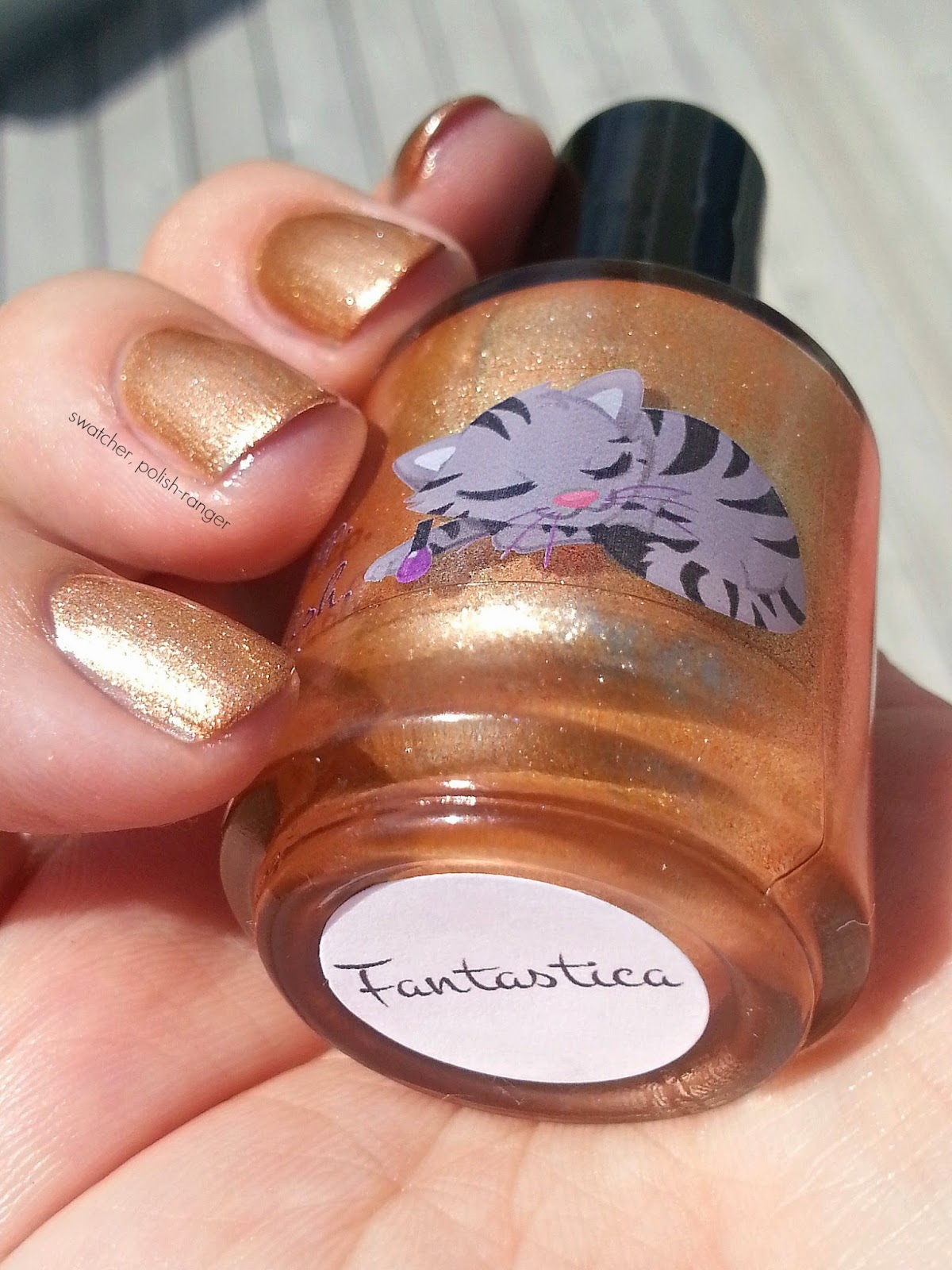Eat. Sleep. Polish Fantastica swatch