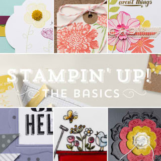 Flyer for Stampin'UP!'s new On-Line Class: Stamping Basics
