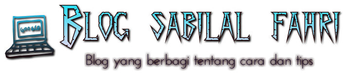 Blog sabilal fahri
