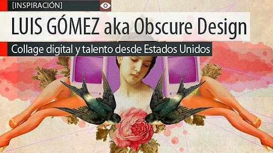 Collage digital y talento de LUIS GÓMEZ
