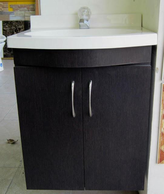 Muebles para ba o y cocina en policuarzo y fibra de vidrio - Lavamanos con mueble ...