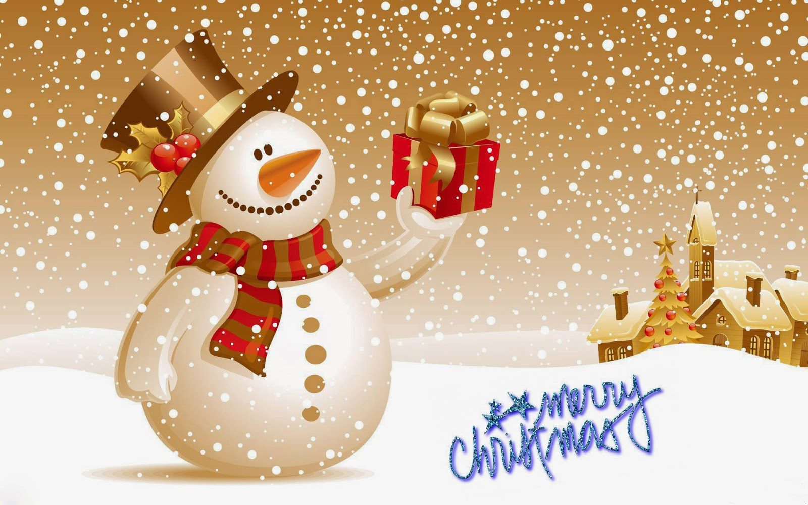 Happy Christmas Latest Wallpapers Cards