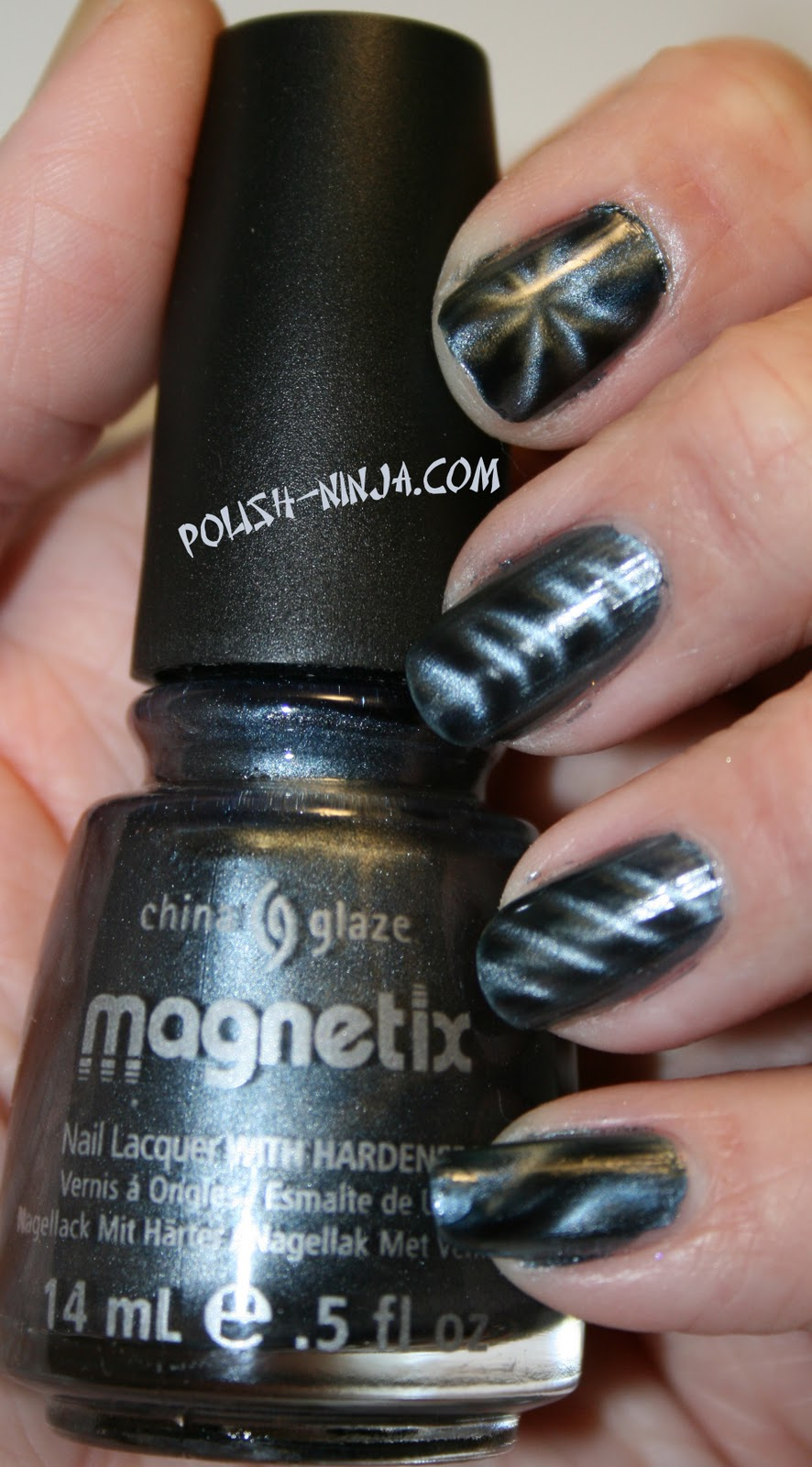 Polish Ninja: China Glaze Magnetix swatches
