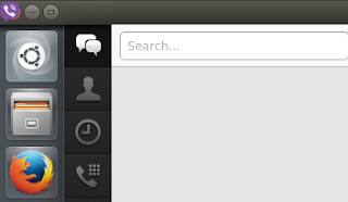 viber top left icon Ubuntu bug