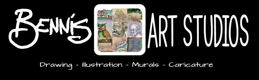 Bennis Art Studios - Sketches and Recent Works