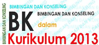 Program Kerja Guru Bimbingan Konseling/BK Kurikulum 2013