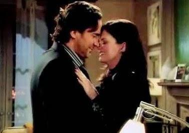 Katie e Ridge bacio