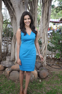 Actress Priya Anand Pictures in Short Dress at Arima Nambi Movie Press Meet 0007.jpg