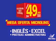 MEGA OFERTA MICROLINS CANDEIAS. PARTICIPE!!!