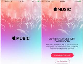 musica su iPhone e iTunes Apple