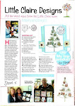 My card was featured in Quick Cards Sept 2012