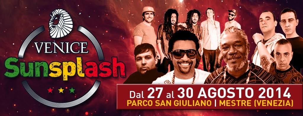 Venice Sunsplash 2014 > Dal 27 al 30 Agosto 2014 - Parco San Giuliano - Mestre (VE)