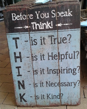 Kunst van stellen van vragen: think!