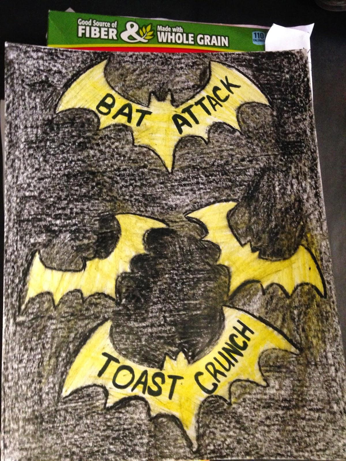 the corriganite nation  bat cereal boxes