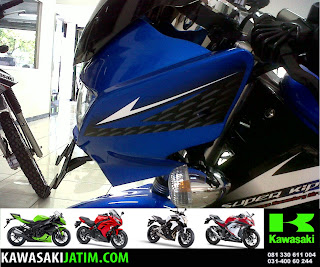 Ninja 150R Biru New Stripping head lamp