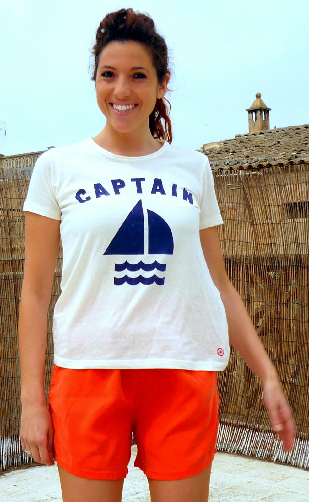 camiseta zara captain
